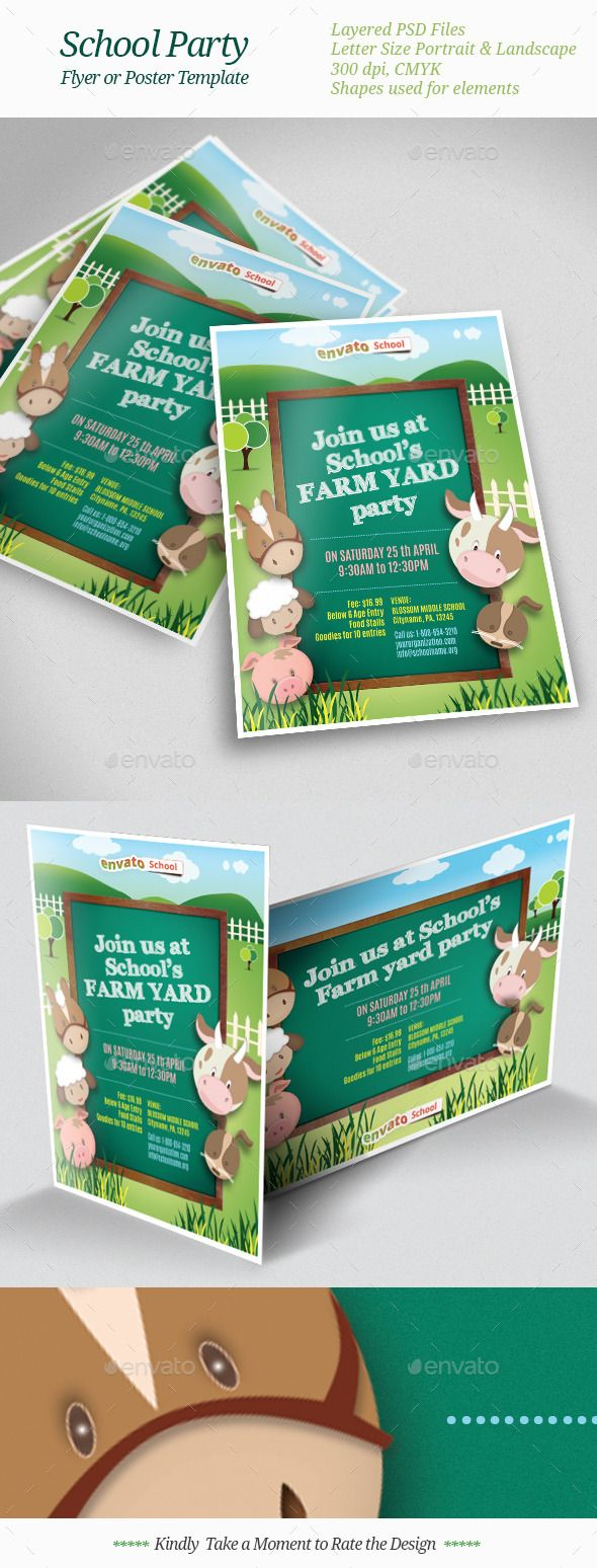 pediatrician child care tri fold brochure template brochure school party flyer templates