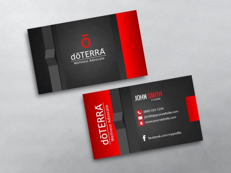 Custom doterra business card printing for doterra wellness advocates custom doterra business card printing for doterra wellness advocates design print business card template online cheaphphosting Gallery