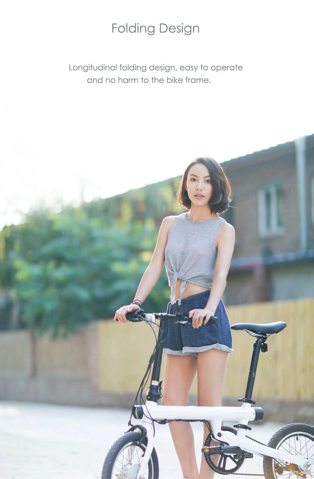 Original Xiaomi Mijia Qicycle Ef1 Smart Bicycle Foldable Bike