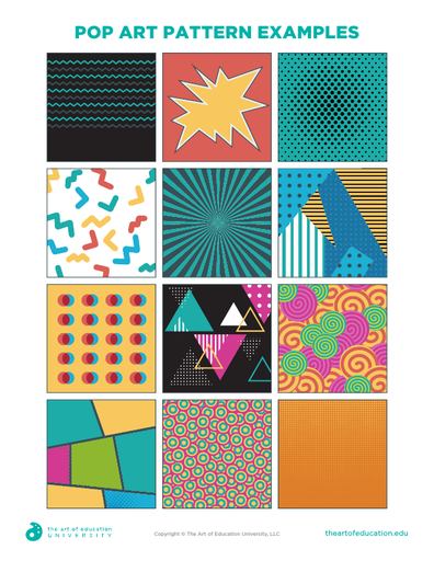 Pop Art Pattern Examples Flex Resource In 2020 Pop Art