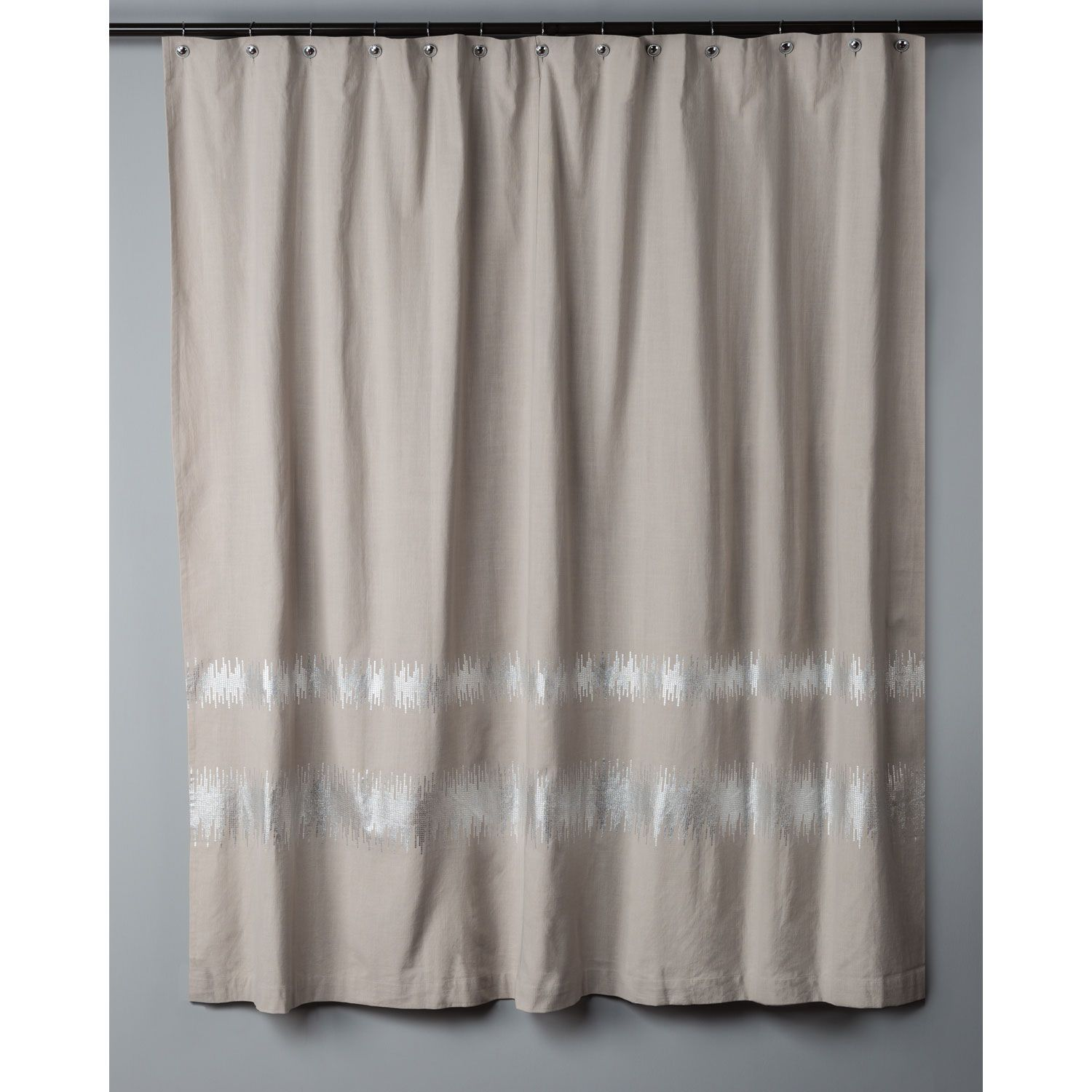 Rizzy Rugs Taupe Shower Curtain Curg00501t3sv7272 Curtains Blue