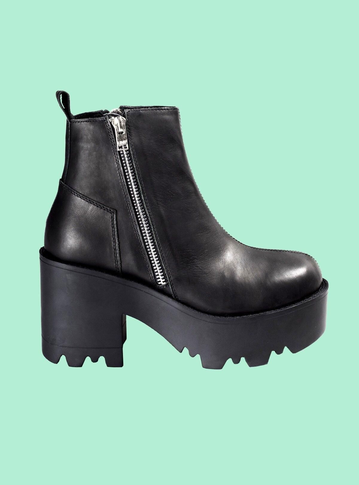 b9050b25896 Any similar shoes or the exact as UNIF rival boots? Thanks! | Shoes ...