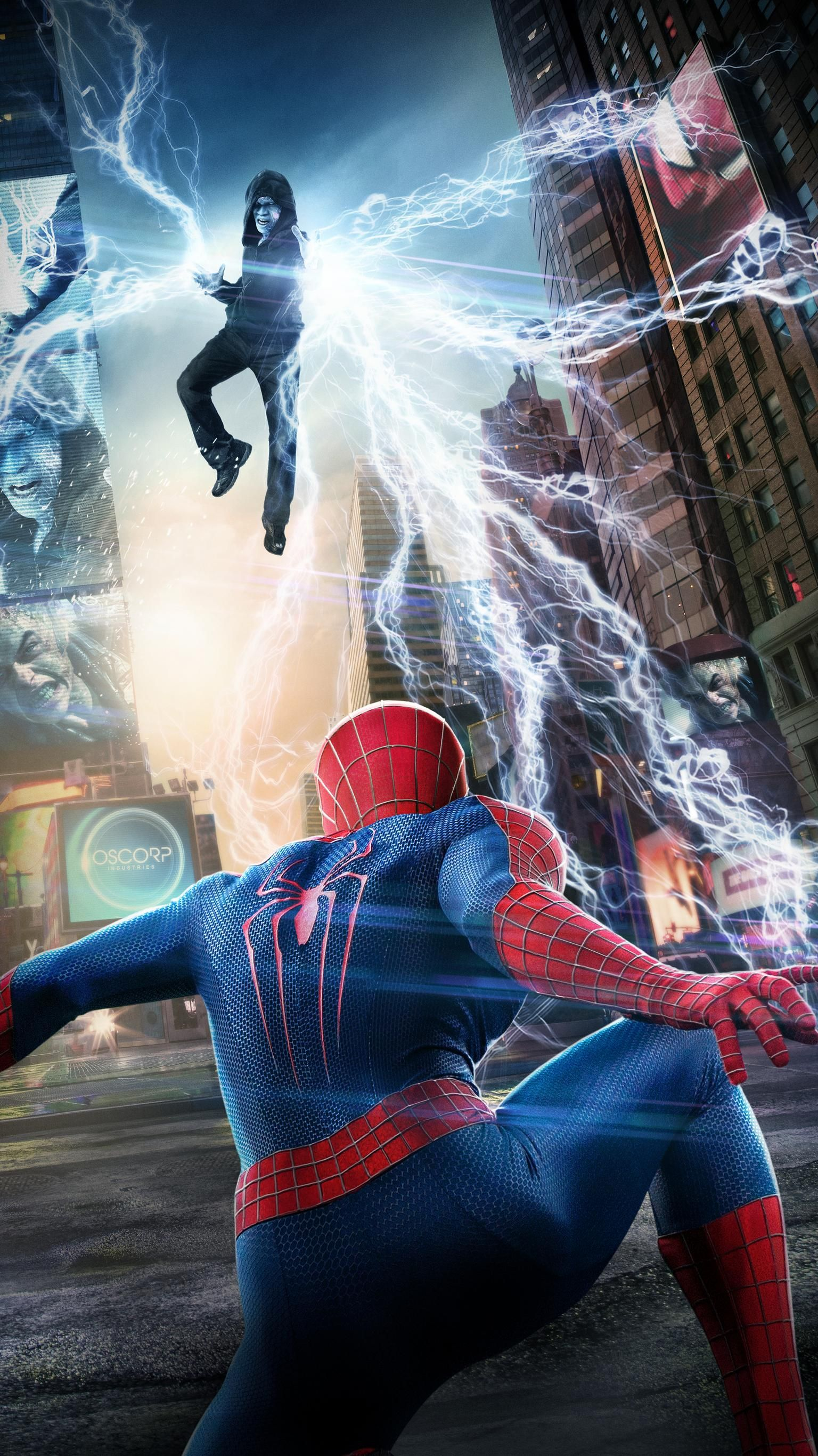 The Amazing Spider Man 2 2014 Phone Wallpaper Moviemania The Amazing Spiderman 2 Spiderman Spider Man 2