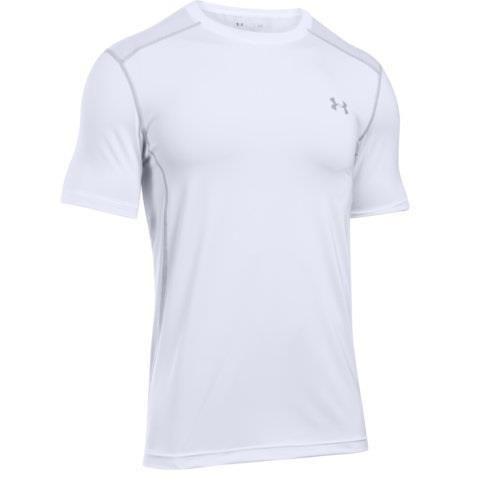 Under Armour Men Heatgear Raid Turbo Short Sleeve Shirt Xl 2xl White 1281261 100 Underarmour Shirtstops Under Armour T Shirts Under Armour Men Under Armour