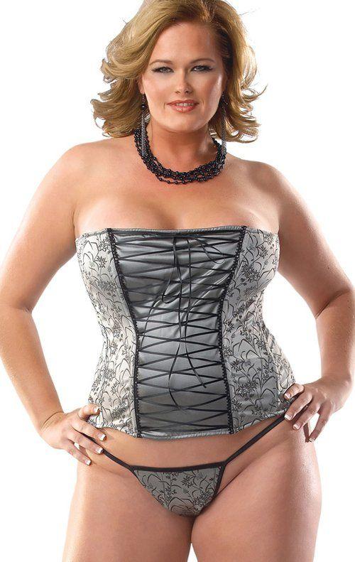13ab255478a2 Corpiño y tanga tallas grandes de la colección Coquette - Lencería sexy en tallas  grandes