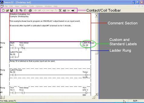 Free PLC Relay Ladder Logic Programming Software (with Simulator ...