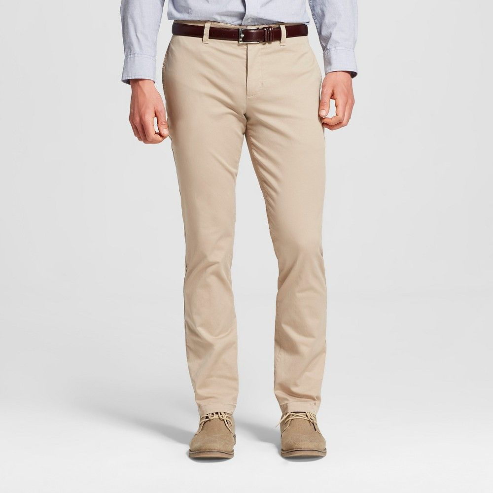 Slim Fit Cotton Chino Pant For Men Sand