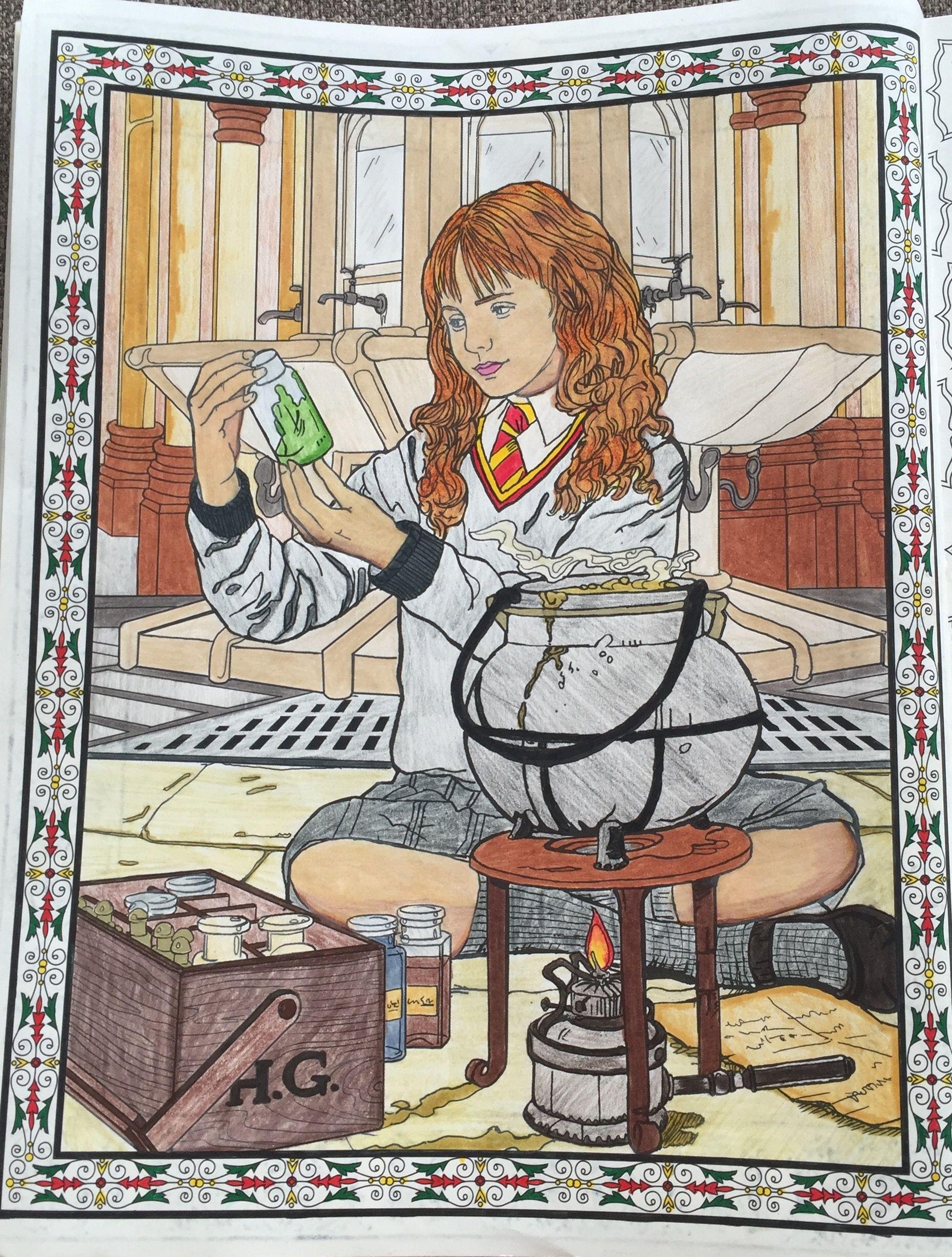 Colorterapia Hp Harrypotter Hermione Pocao Polissuco