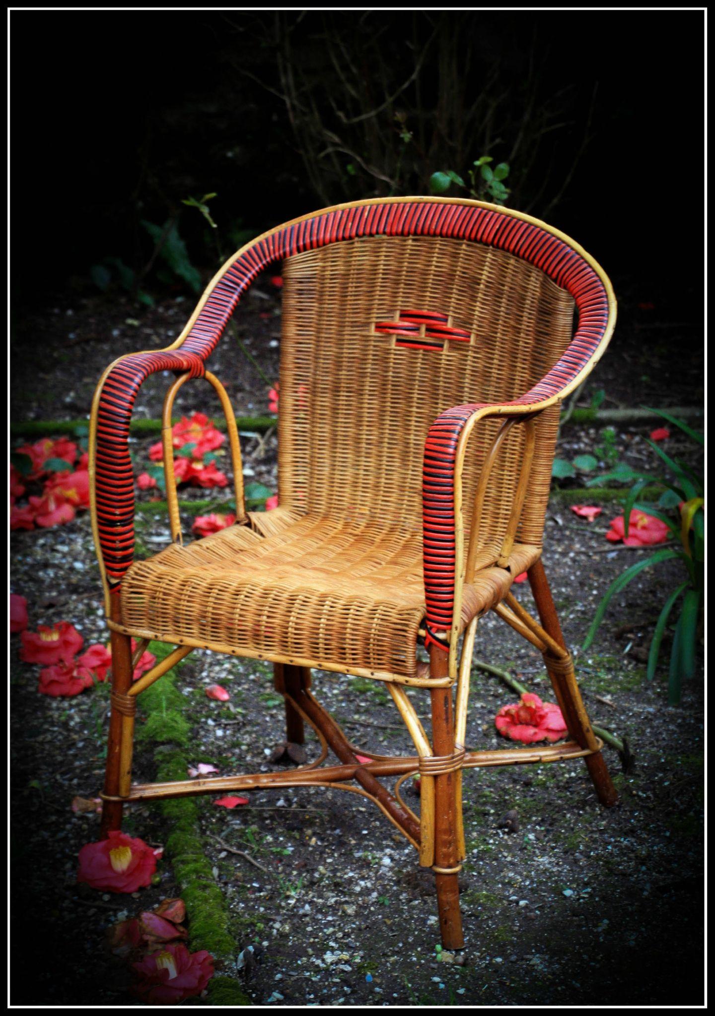 """Résultat de recherche d'images pour """"salon rotin pour intérieur vintage retro année 1950 pinterest"""""""