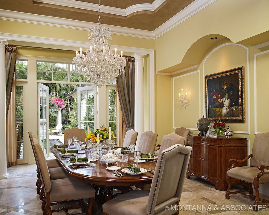 crystal dining room chandeliers for classic dining room interior rh pinterest ca Formal Dining Room Chandeliers Traditional Dining Room Chandeliers