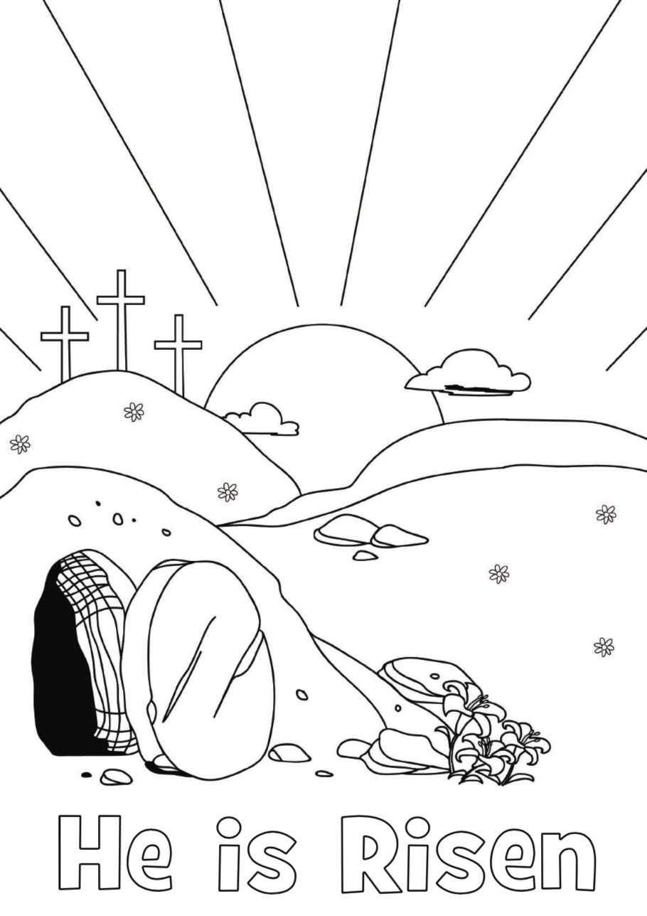 Easter Coloring Pages for Kids and Adults