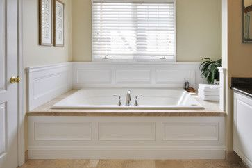 Master Bath Remodel Rustic