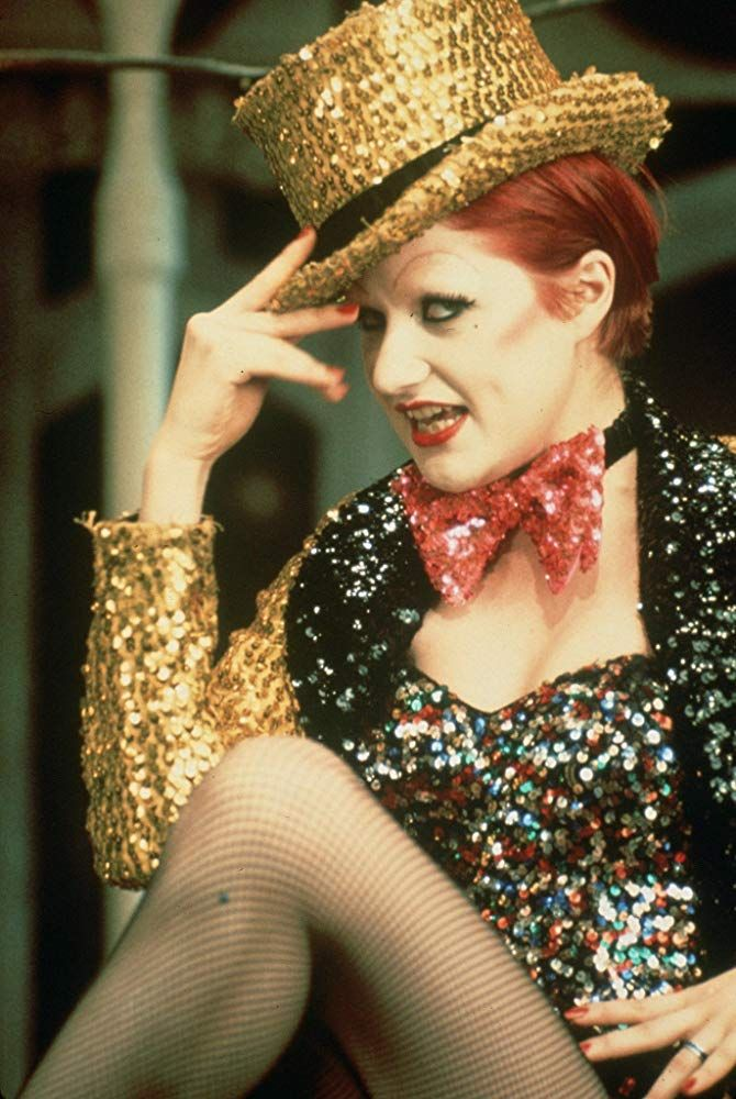 Nell Campbell in The Rocky Horror Picture Show (1975) A