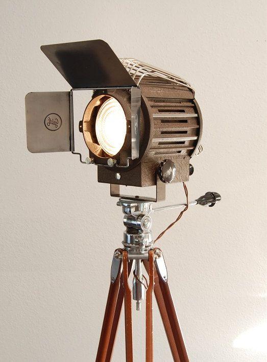 40 S Vintage Theater Stage Light Spotlight Industrial