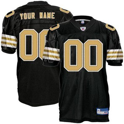 best website e1e2e 6045b Reebok New Orleans Saints Authentic Customized Alternate ...