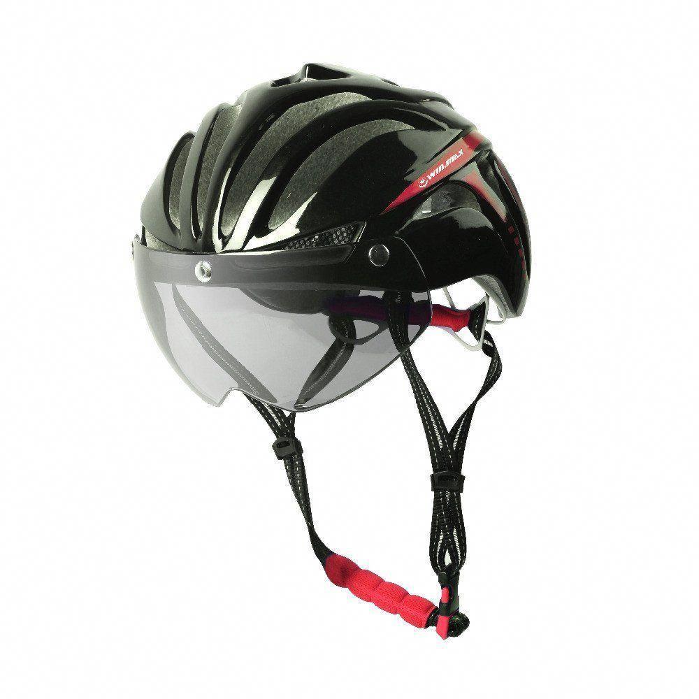 Bicycle cycling helmet ultralight integrallymolded mtb