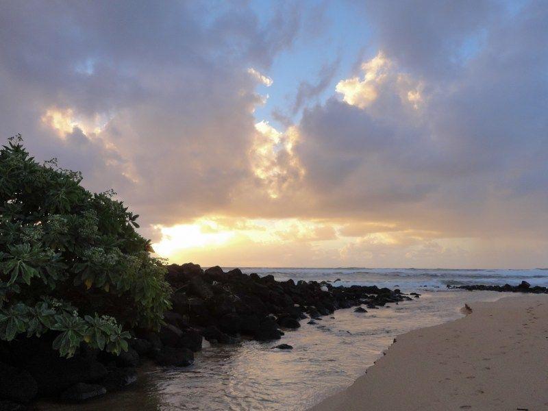 Timeless Beauty Of A 2011 Kauai Sunrise