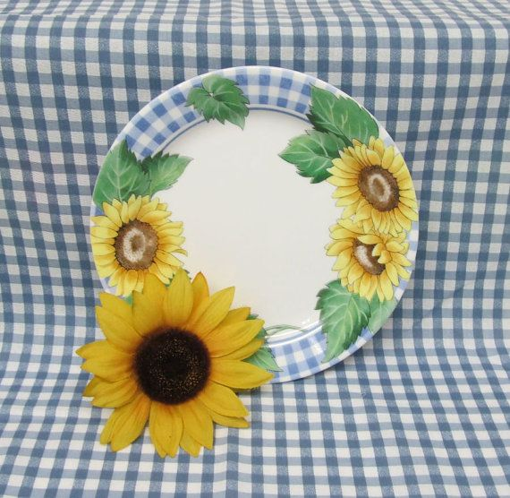 Corelle Sunflower Dinnerware Set Corning Sunsations 16 pieces Service for 4  sc 1 st  Pinterest : tuscan sunflower dinnerware - pezcame.com