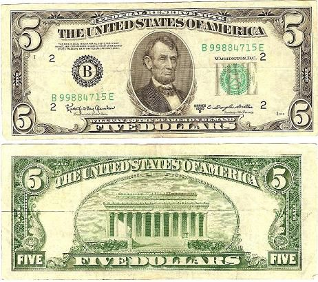 Chapter 19 The Dowry This Five Dollar Bill Represents The
