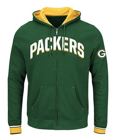 Green Bay Packers Zip Up Hoodie Men's Big & Tall #zulily  hot sale