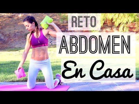 RETO! Abdomen DEFINIDO 30 DIAS! En CASA! | Naty Arcila | - YouTube