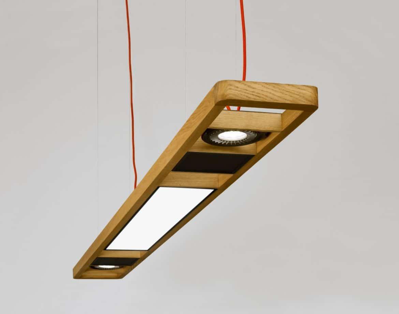 Led Schlafzimmerlampe ~ New creative oak modern led ceiling lights for living room bedroom
