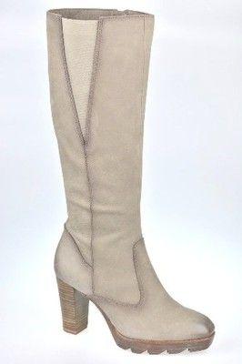Kozaki Bezowe Tamaris 37 25534 27 6572446116 Oficjalne Archiwum Allegro Boots Knee Boots Over Knee Boot