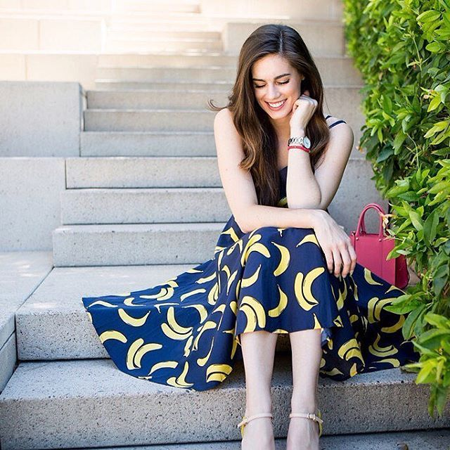 Mind your nanners 🍌 Could this dress be any more @Modcloth? (The answer is no…