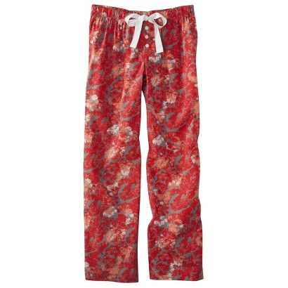 Target : Gilligan & OMalley® Womens Woven Sleep Pant - Assorted Patterns & Colors : Image Zoom