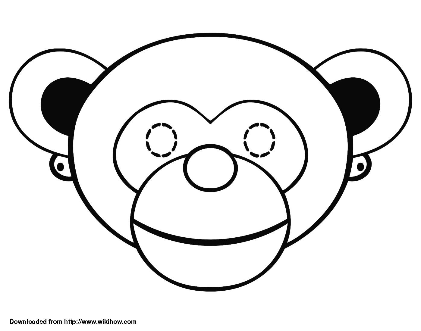 Μικροί μπελάδες: Ας μεταμφιεστούμε σε ζωάκια: 12 τσαχπίνικες μάσκες έτοιμες  για εκτύπωση.! Animal Mask TemplatesAnimal MasksTemplates FreeClip ...  Free Mask Templates