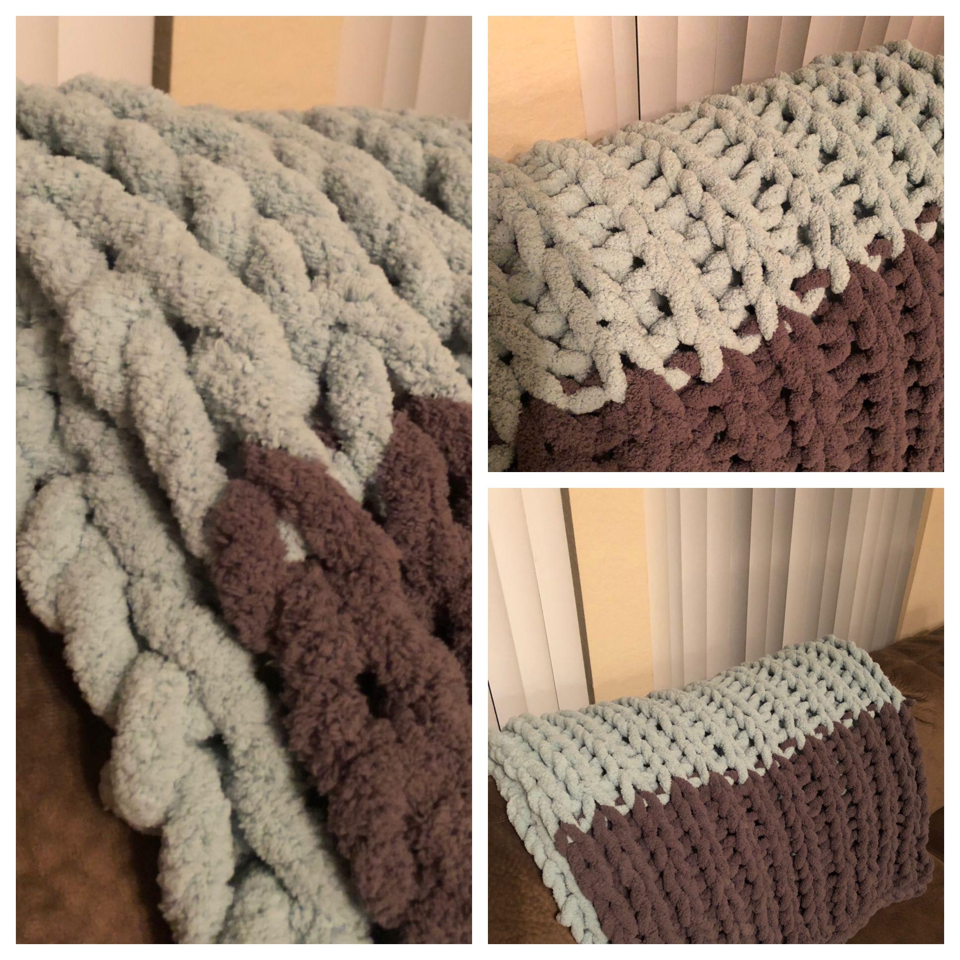 Chunky Blanket Arm Knitting Bernat Big Blanket Big Yarn From Michael S Chunky Blanket Arm Knitting Blanket Big Yarn