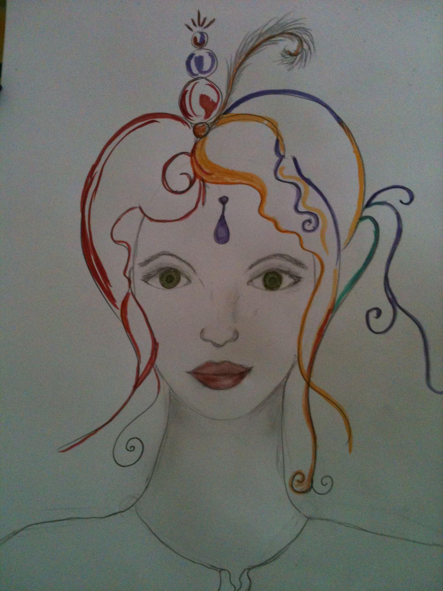 just a little bit drawing...