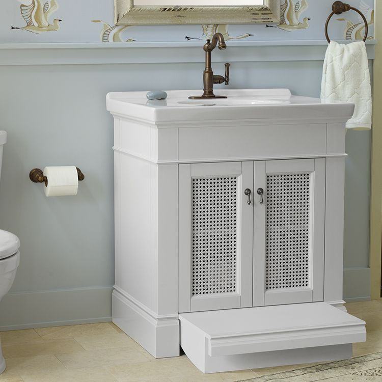 Wood Vanity Small Bathroom Storage