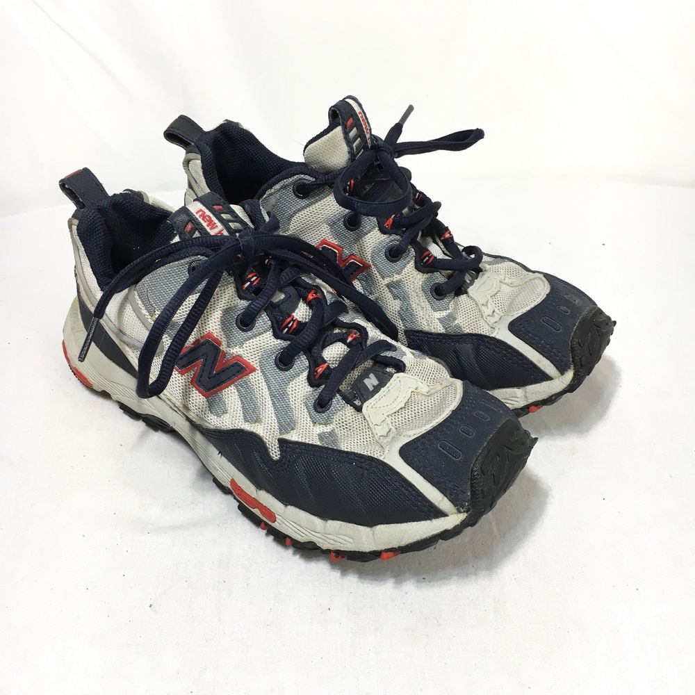 New Balance 904 Womens 8 Navy Blue Gray Lace Up Athletic Trail ...