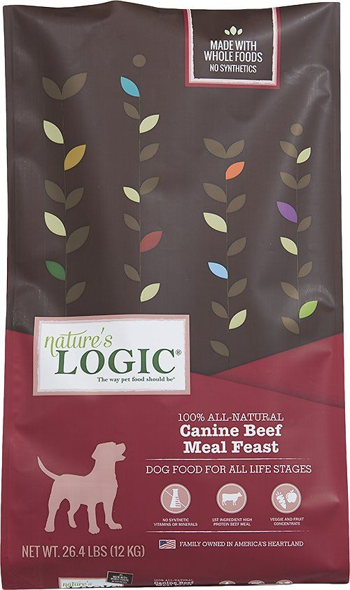 Nature S Logic Canine Beef Meal Feast All Life Stages Dry Dog Food 25 Lb Bag Chewy Com Dog Food Recipes Dry Dog Food Beef Recipes