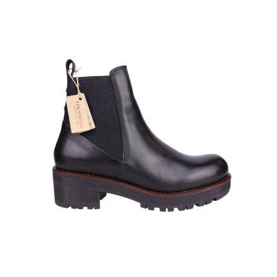 Mens Messico Maxwell Boots Black Leather TWC36092