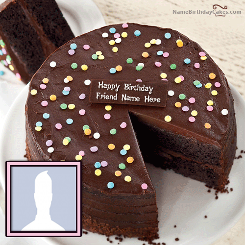 Best Photo Birthday Cake Images With Name Editor (With