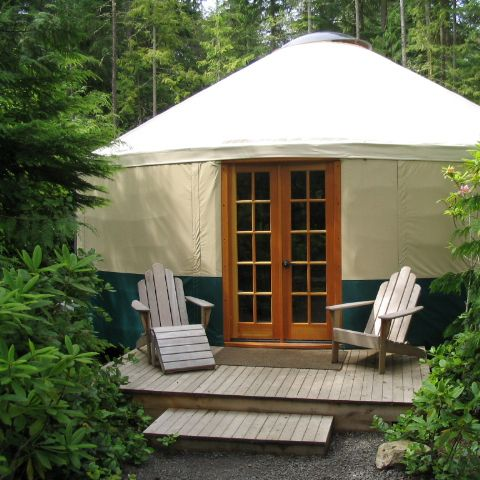 reputable site 50962 9d0c4 Make a Yurt Your Second Home - Rainier Yurts | Yurt Living ...