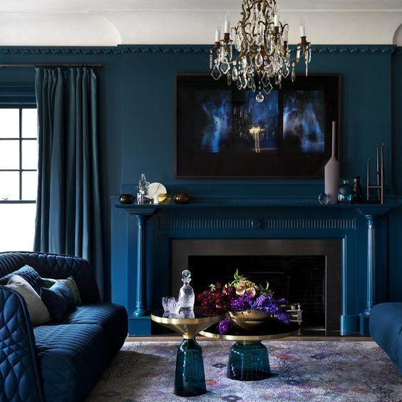 BLUE INSPIRATION! 10 stanze bellissime | Wohnen