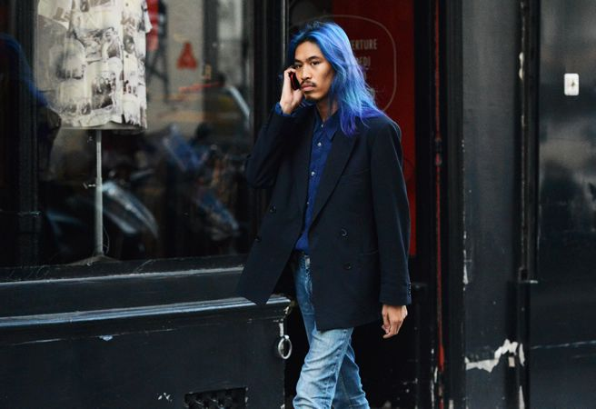 Street-Style Photographer Tommy Ton Shoots the Menswear Scene