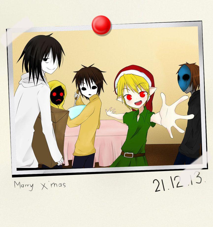 Creepypasta Proxy Christmas by IkaNe96 on deviantART   Creepypasta ...