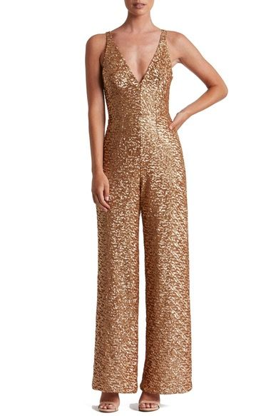 Chocolate Dress The Potion Charlie Sequin Jumpsuit Available At Nordstrom