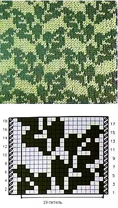 bildergebnis f r blattmuster stricken fair isle kreuzstichblumen pinterest stricken. Black Bedroom Furniture Sets. Home Design Ideas