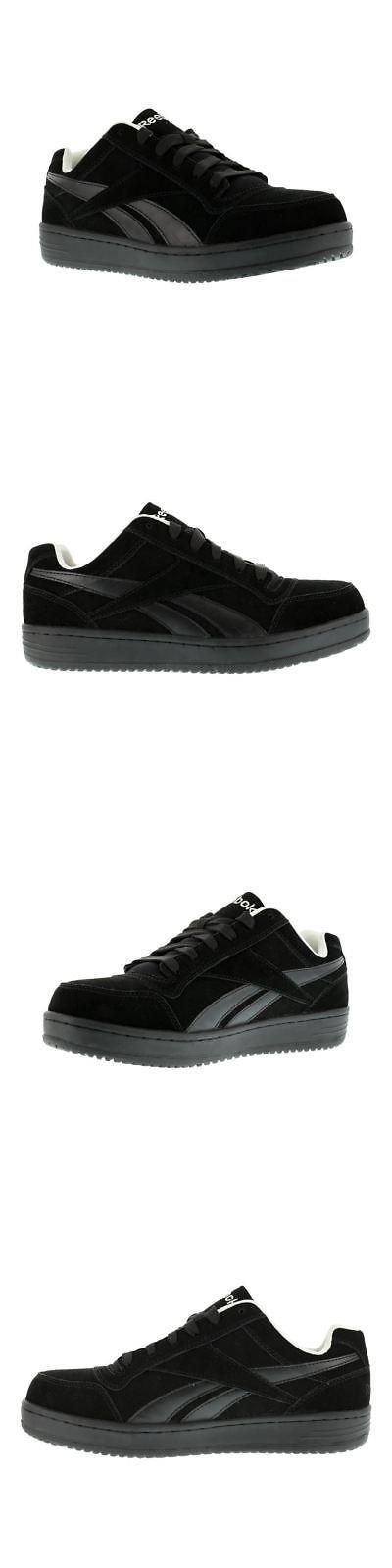 412e2ba2d52894 Occupational 11501  Reebok Rb1910 Soyay Mens Black Steel Toe Classic  Skateboard Oxford Work Shoes -