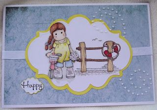 Cards and Scraps by Michelle: challenge number 1