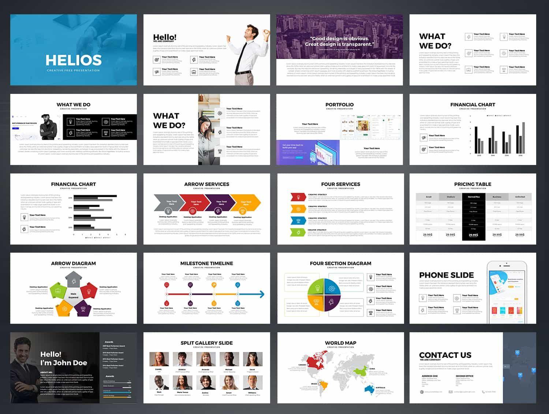HELIOS Free Powerpoint Template-Free   Free Powerpoint & Keynote ...