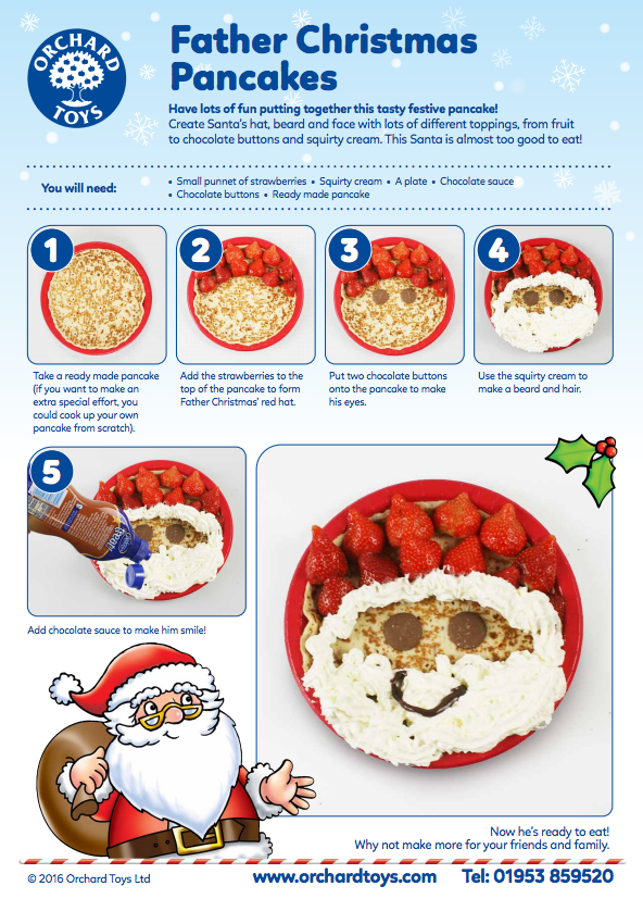 Orchard toys father christmas pancakes recipe for kids download a orchard toys father christmas pancakes recipe for kids download a free pdf here https forumfinder Images