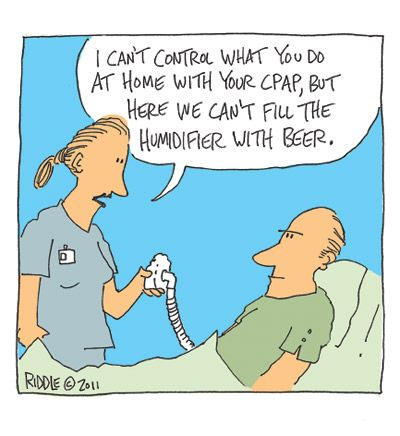 This Man Want His Been Humidified I Find That Quite Humorous Because I Can Just About Imagine All The Respiratory Humor Medical Humor Respiratory Therapy Humor