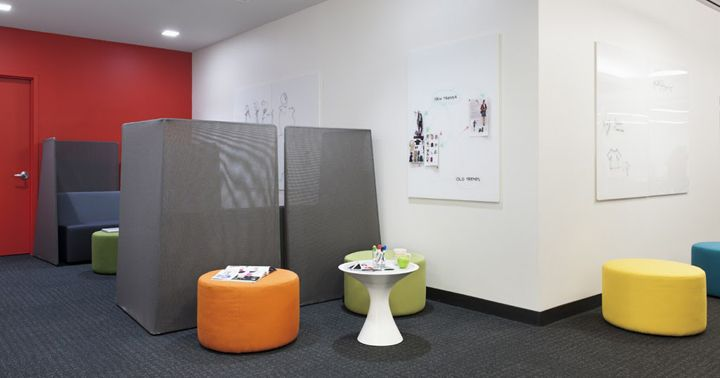 Htspotted Cone Table Macys Office By Swanke Waldner S New York Office Creative Office Space City Office New York Office