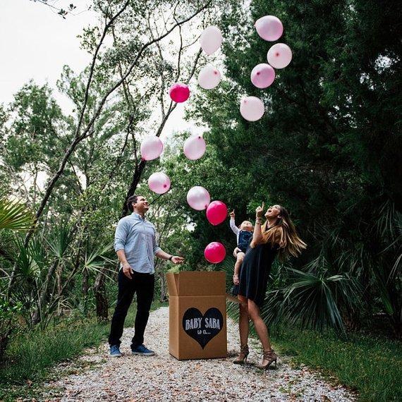 Custom Gender Reveal Balloon Box Sign Chalkboard Printable Digital File Sibling Party Gender Reveal Balloons Gender Reveal Balloon Box Valentines Gender Reveal